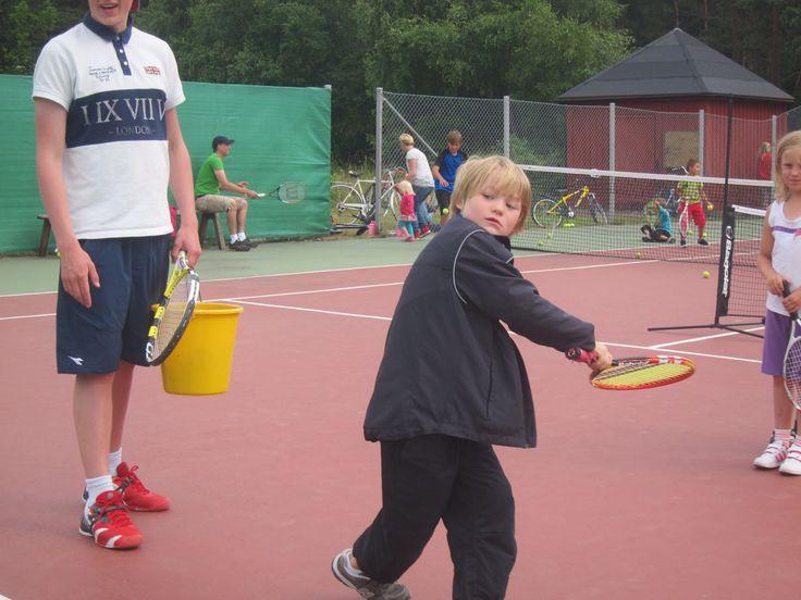 Aspö tennis school 2013