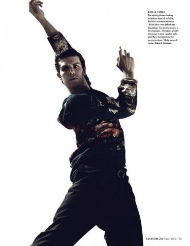 Roberto Bolle: dancers need a perfect body, great face, and passion