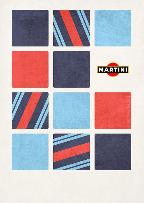 Martini Racing fan art.    (C) Jake Yorath 2012