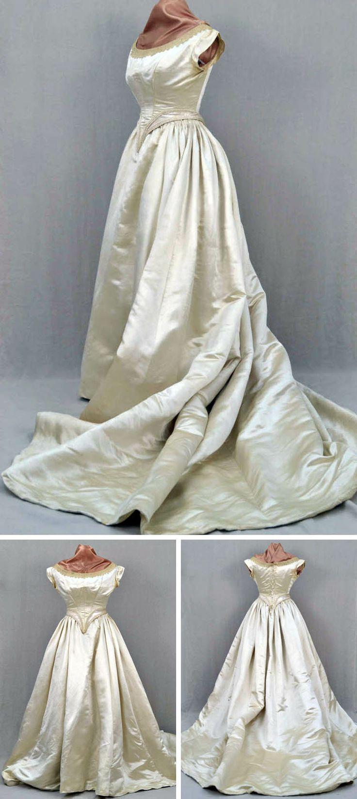 Vintage Wedding Dress Ca : Best images about vintage bridal on auction