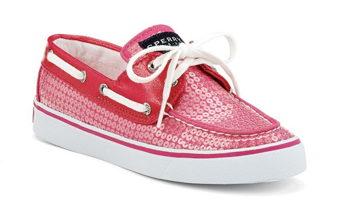 Pink Sequins Women's Bahama Boat Shoe $75.00 by Sperry Top Sider <3 <3 <3