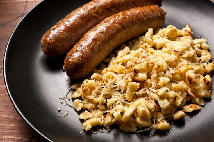 A classic recipe for German cheese spaetzle.