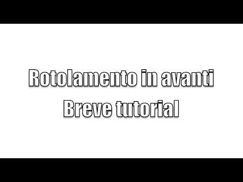 Tutorial rotolamento in avanti - YouTube