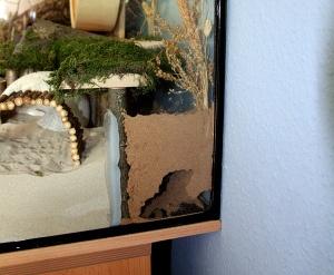 Tunnel dans un mélange sable-torchis