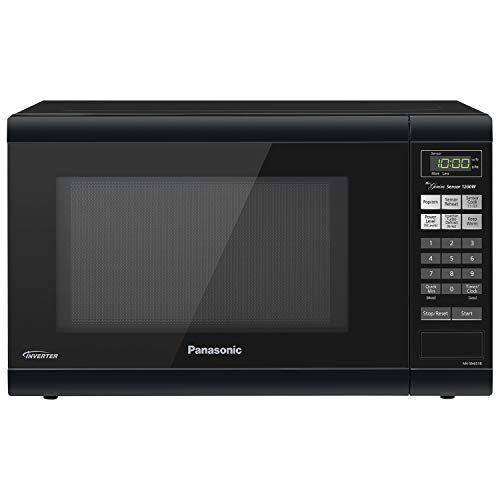 Panasonic Microwave Oven Nn Sn651b Black Countertop With Inverter Technology And Genius Senso Panasonic Microwave Panasonic Microwave Oven Countertop Microwave
