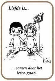 Liefde is. .