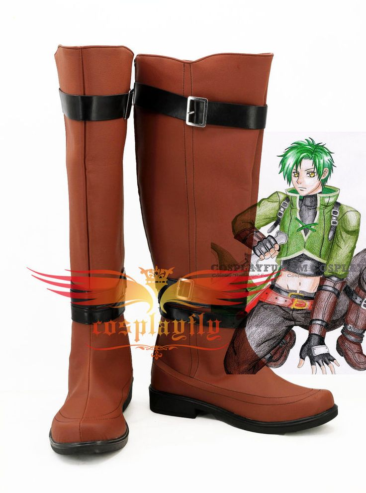 Fire Emblem Radiant Dawn Prince Ephraim Cosplay Shoes Brown Boots Custom Made