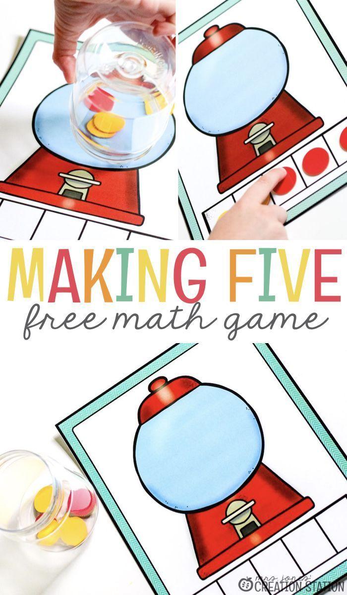 Making Five Math Game