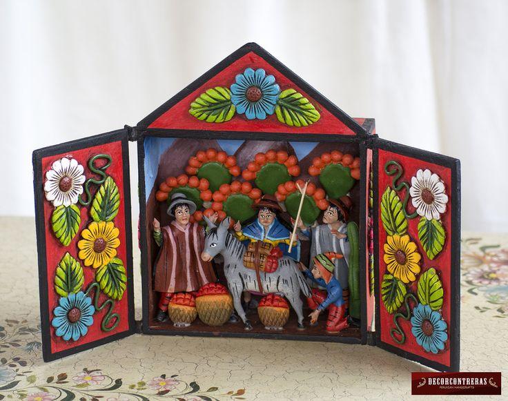 45 best peruvian folk art images on pinterest christmas - Decoracion para el hogar ...