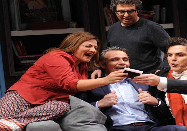 Σήμερα (24/7) στο θέατρο Παπάγου η πολυσυζητημένη σύγχρονη κωμωδία «Για Όνομα…» #θέατρο #θέατροΠαπάγου #κωμωδία