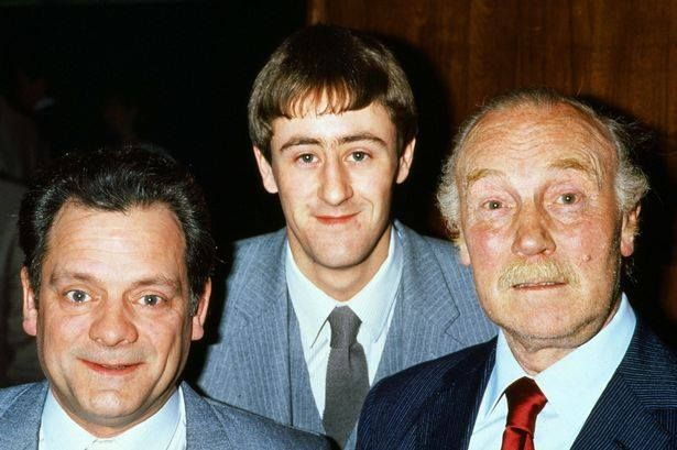 David Jason, Nicholas Lyndhurst & Lennard Pearce from 1984, the same year that Lennard sadly died - Only Fools And Horses