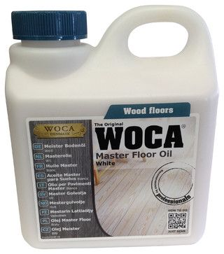 WOCA Master Floor Oil 1 Liter, White industrial-vacuum-and-floor-care-accessories