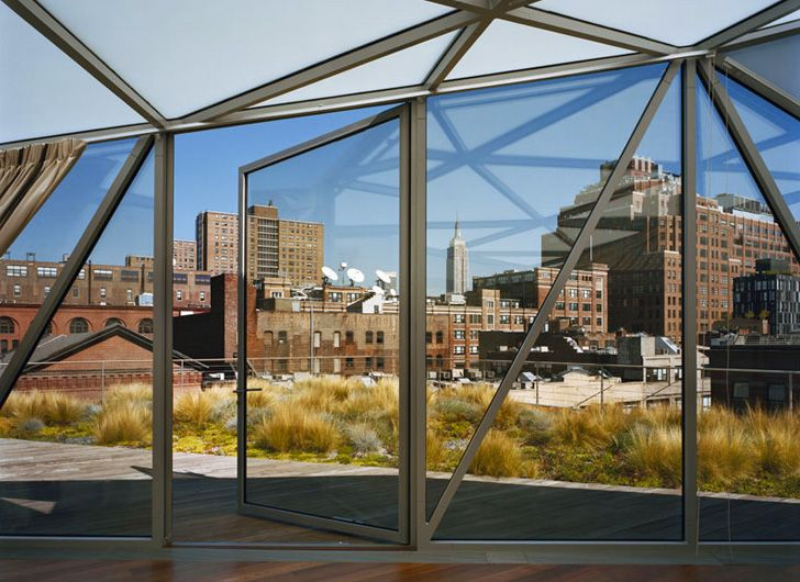 Diane von Furstenbergs Stunning Glass Roof Penthouse Atop DVF Flagship Store (6)