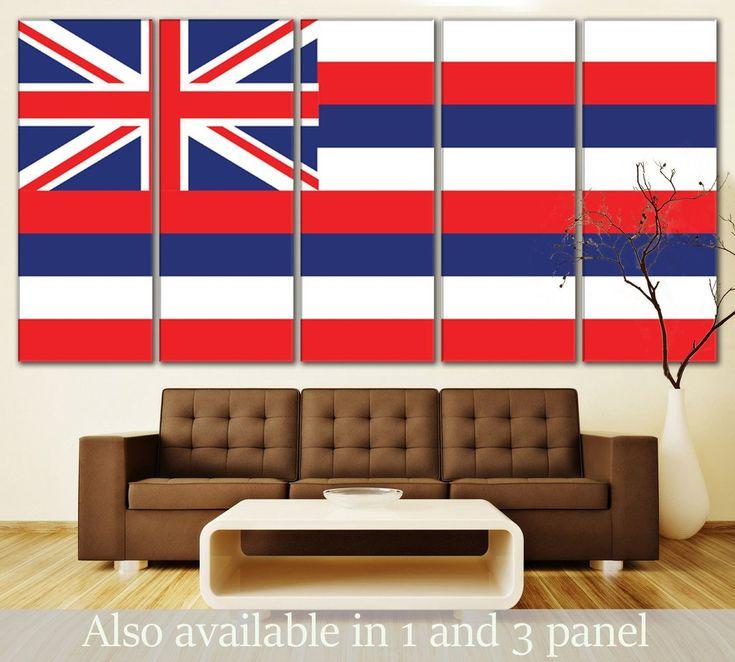 Flag of Hawaii canvas print. #Hawaii #Flag #Canvas