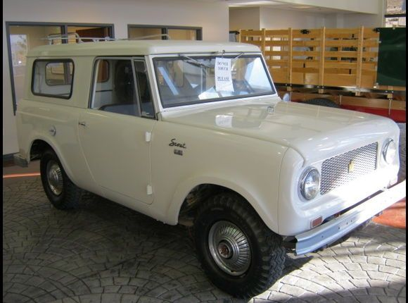 1965 International Scout. Mine was yellow. Hmmm had several yellow vehicles.