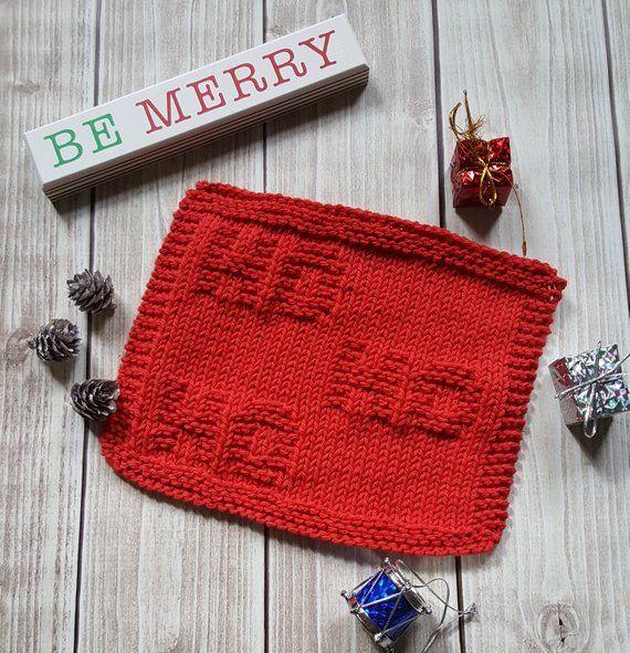 Easy Beginner Knitting Project - Ho Ho Ho Knit PDF ...
