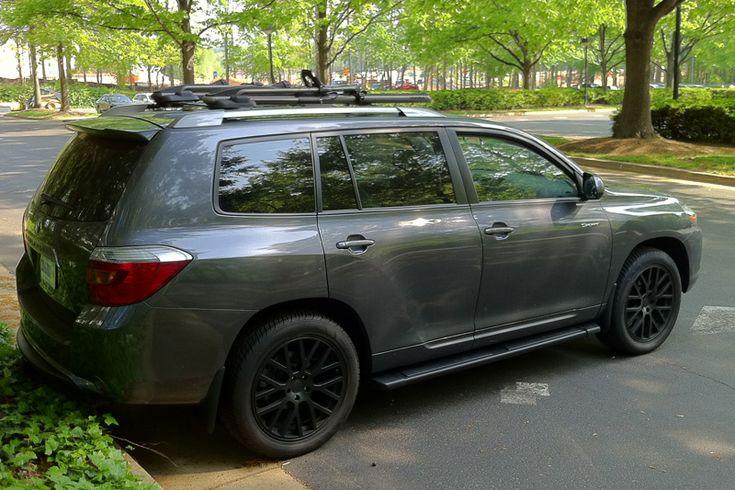 Toyota Highlander White Custom Wheels Google Search