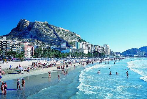 #Alicante/Alacant (ciudad) - Playa El Postiguet