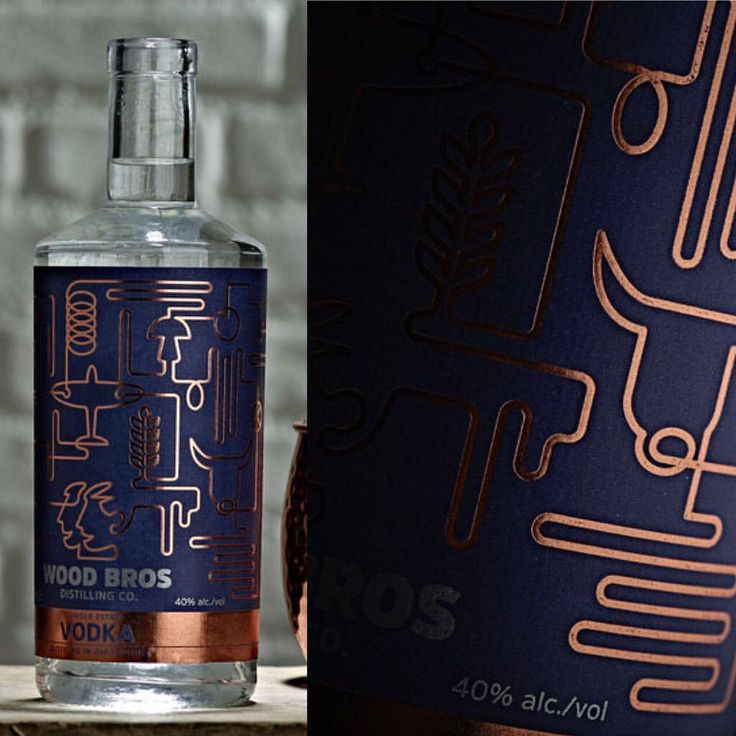 Wood Brothers Small Batch Vodka by Pencil Studio