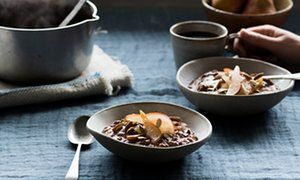 Anna Jones's recipes for making porridge more interesting | The modern cook | Life and style | The Guardian