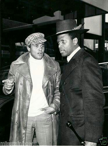 Harry Belafonte & Sydney Potier old school swag