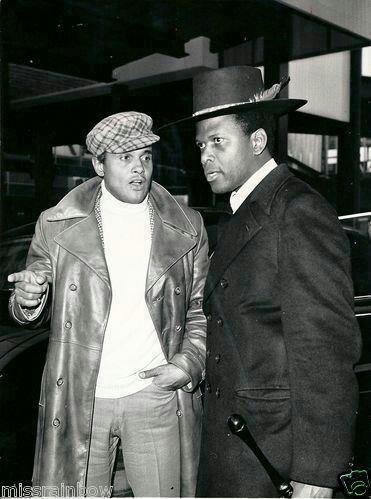 Harry Belafonte & Sydney Potier