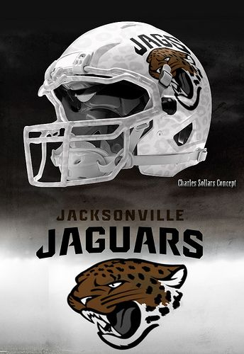 jags #nike #nfl #jaguars #jags http://flic.kr/p/e6sTpL decided to see what a white helmet with some flat spots would look like
