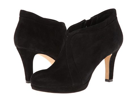 I need a comfty winter boot that I can wear to work.Clarks Kently Laila Black Suede - Zappos.com