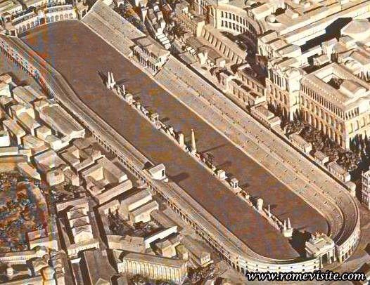 Rome : sites touristiques et guide de voyageCircus Maximus ou le Cirque Maxime de Rome