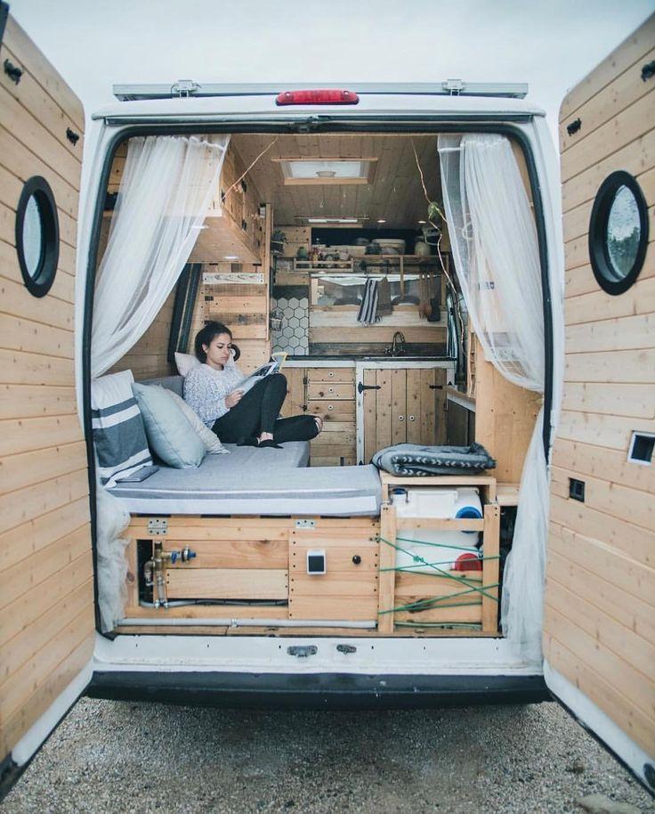 Luxury Interiordesign: Van Life Blog, Van Living, Van Interior