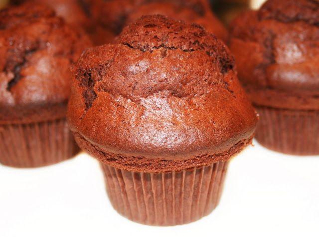 La Cuisine de Bernard: Les muffins atomiques au chocolat (pas à pas avec photos)