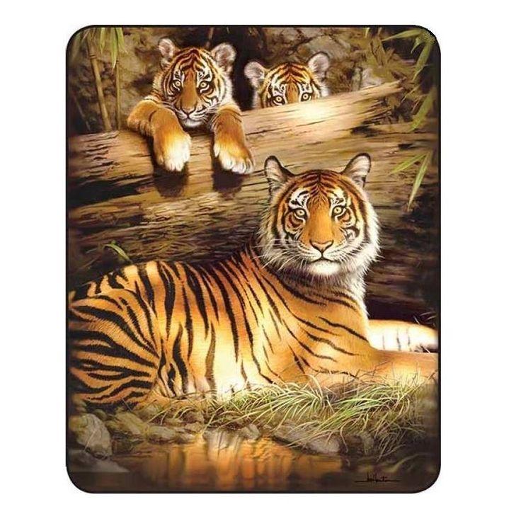 Bengel Tigers Blanket | Yellow Tigers