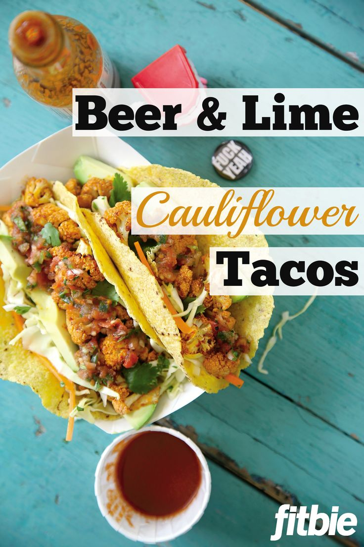 #TacoTuesday: Grab a beer and get to work. Just don't get sloppy 'til you're done cooking.   Fitbie.com