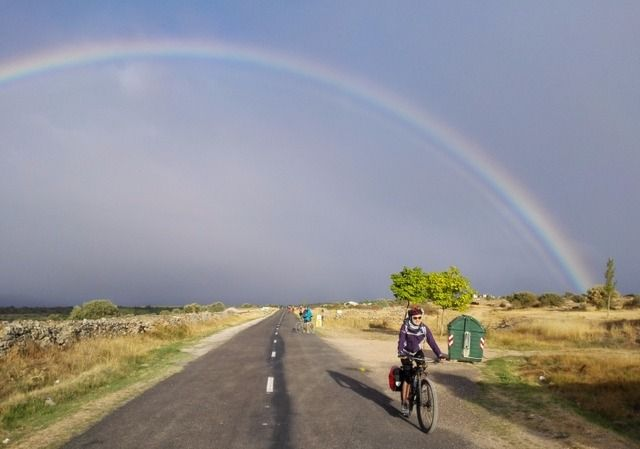 Camino Francés a Santiago en Bici -       Etapa 7