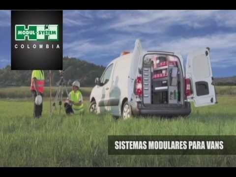 Sistemas Modulares para Vans Modul System Colombia