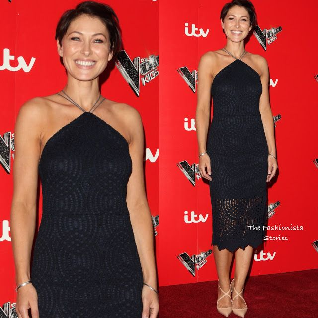 Emma Willis in Topshop at 'The Voice Kids' UK Photocall