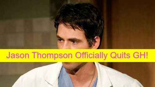 General Hospital Spoilers: Jason Thompson Officially Quits GH – Replacing Burgess Jenkins on The Young and the Restless?