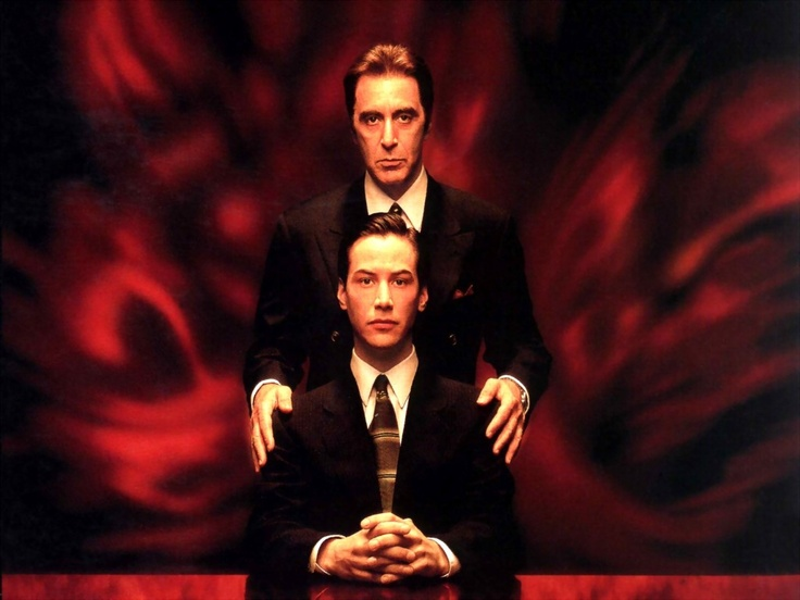 The devil's advocate (1997) - A hotshot lawyer gets more than he bargained for when he learns his new boss is #Lucifer himself.