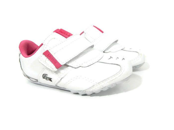 Lacoste Sport Baby Girls Shoe Size 5