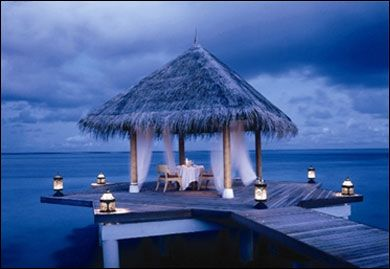 honeymoon spot.