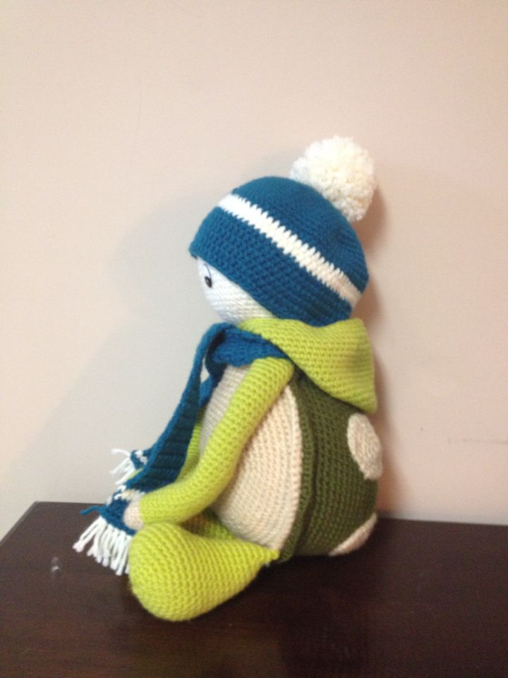 Tyler the Turtle from Crocheted Little Ones