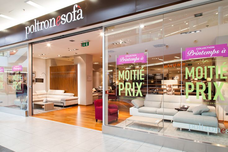 Trouver Boutique PoltroneSofa Paris - Centre Commercial Domus Paris à ROSNY SOUS BOIS