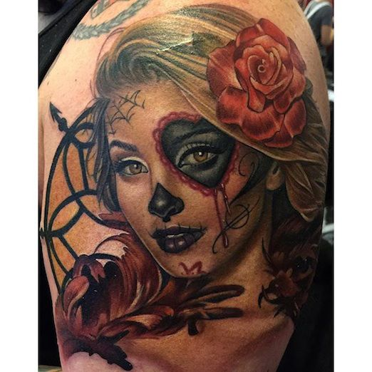 Day of the Dead girl by Tatu Baby