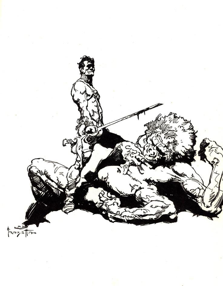 John Carter & the White Ape of Mars