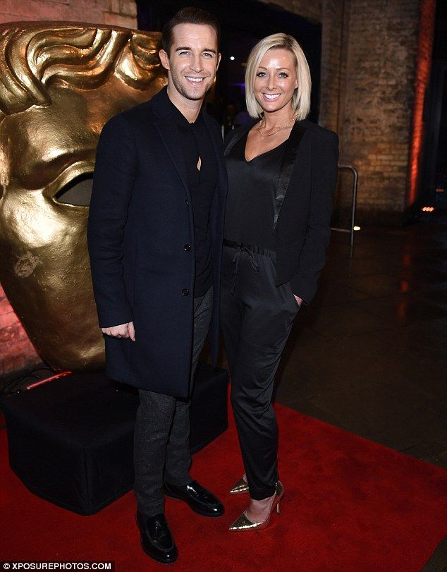 Glamorous couple: One-time X Factor contestant Jay James Picton and his former glamour mod...