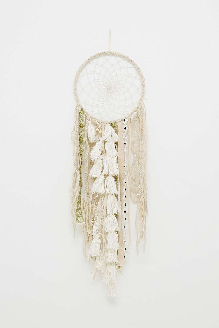 Attrape-rêves Vashti blanc