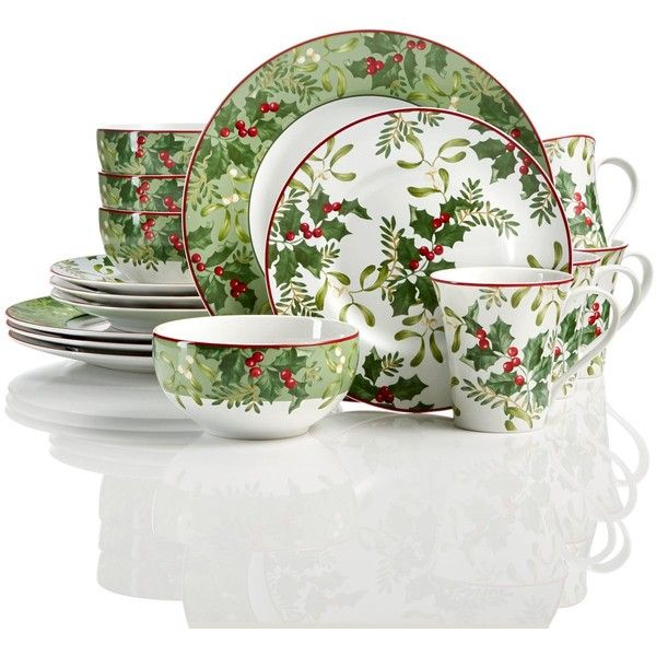 222 Fifth Christmas Foliage 12-Pc Dinnerware Set ($200) ❤ liked on Polyvore featuring home, kitchen & dining, dinnerware, multi, christmas dinnerware, 222 fifth, holiday dinnerware, 222 fifth dinnerware sets and leaf dinnerware