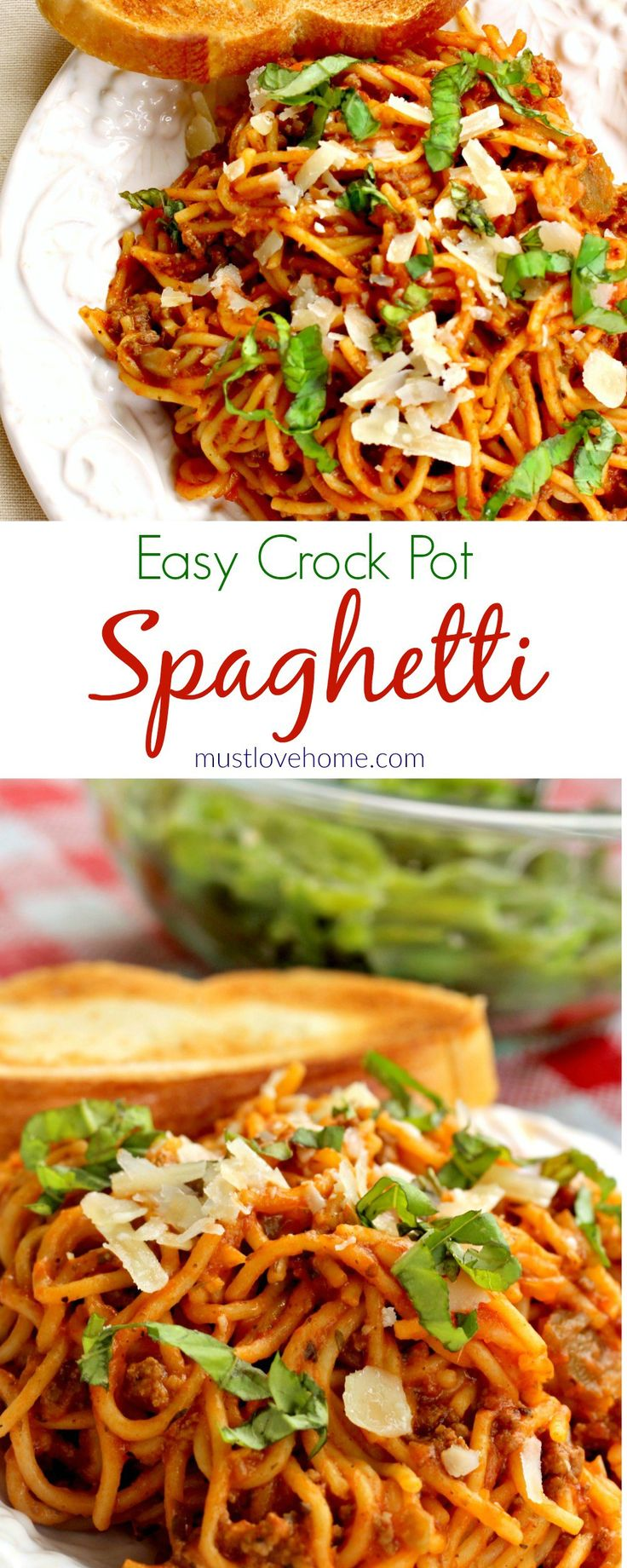 Crock pot recipes with pasta sauce