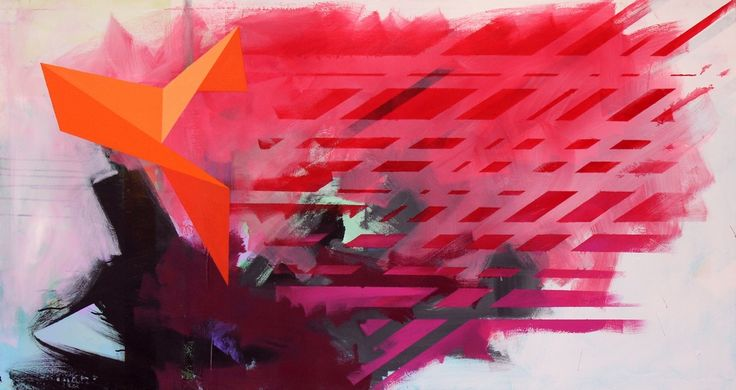 City revival - Jeroen Molenaar. 80 x 150 cm, 2015.