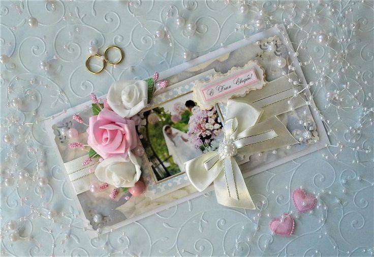 Авторская свадебная открытка, богдана открыткой открытки